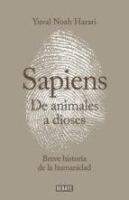 Sapiens de Animales a Dioses libros regalar día del padre 2017